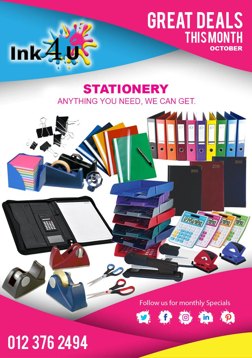 Services That Ink4U Offer. Printer cartridge, Stationery