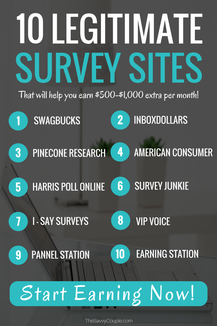 10 Best Paid Online Survey Sites That Will Pay You Cash Up To 25