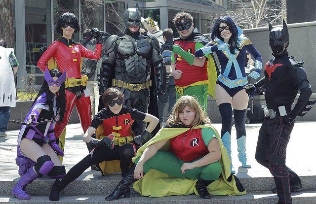 World of Batman cosplay