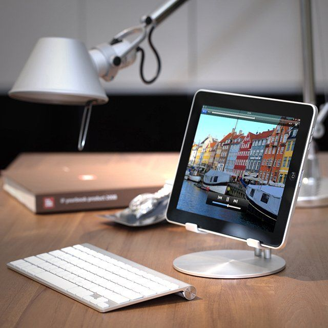 upstand for ipad any other business tablet mit. Black Bedroom Furniture Sets. Home Design Ideas