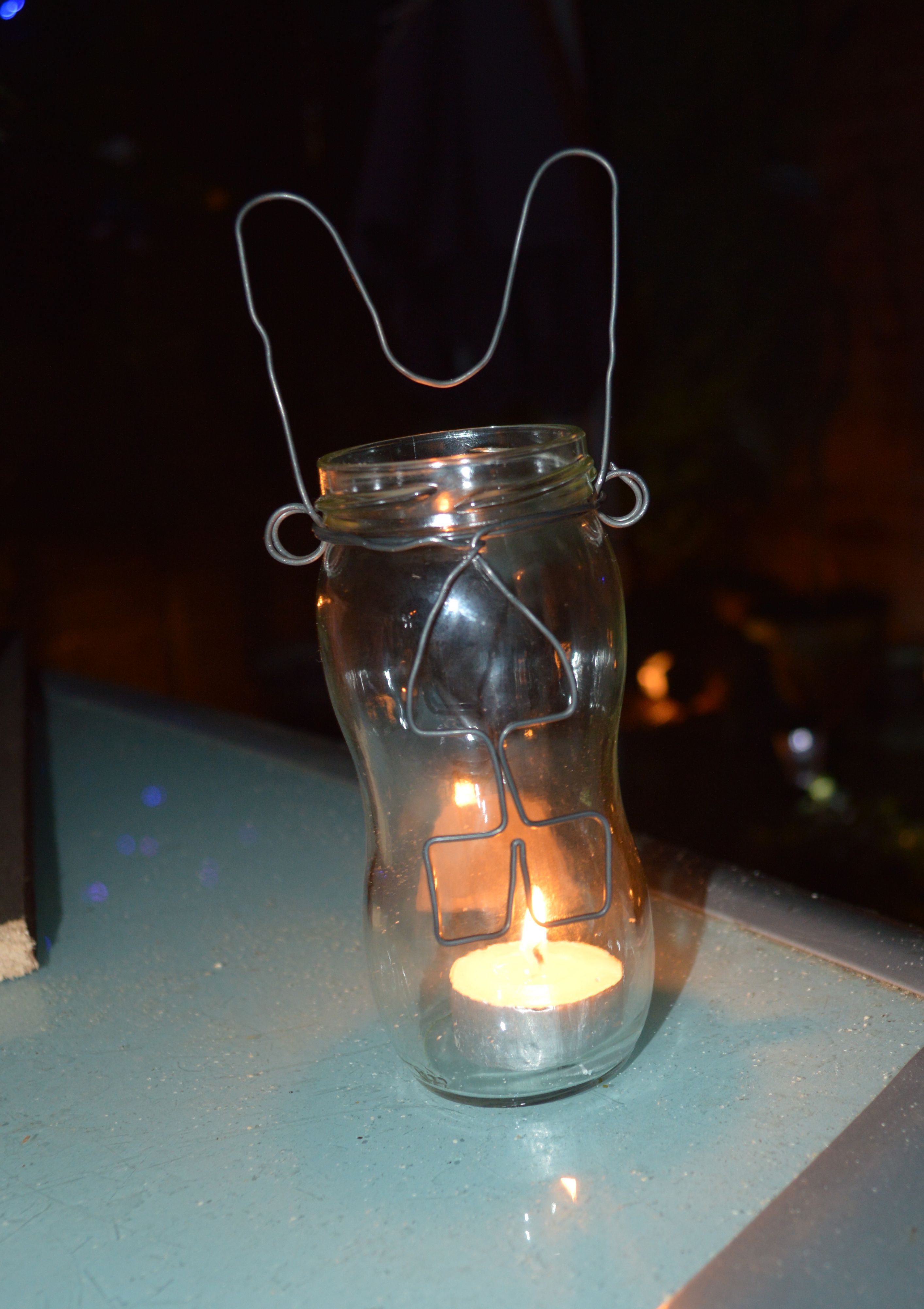 candle holder bunny! :D