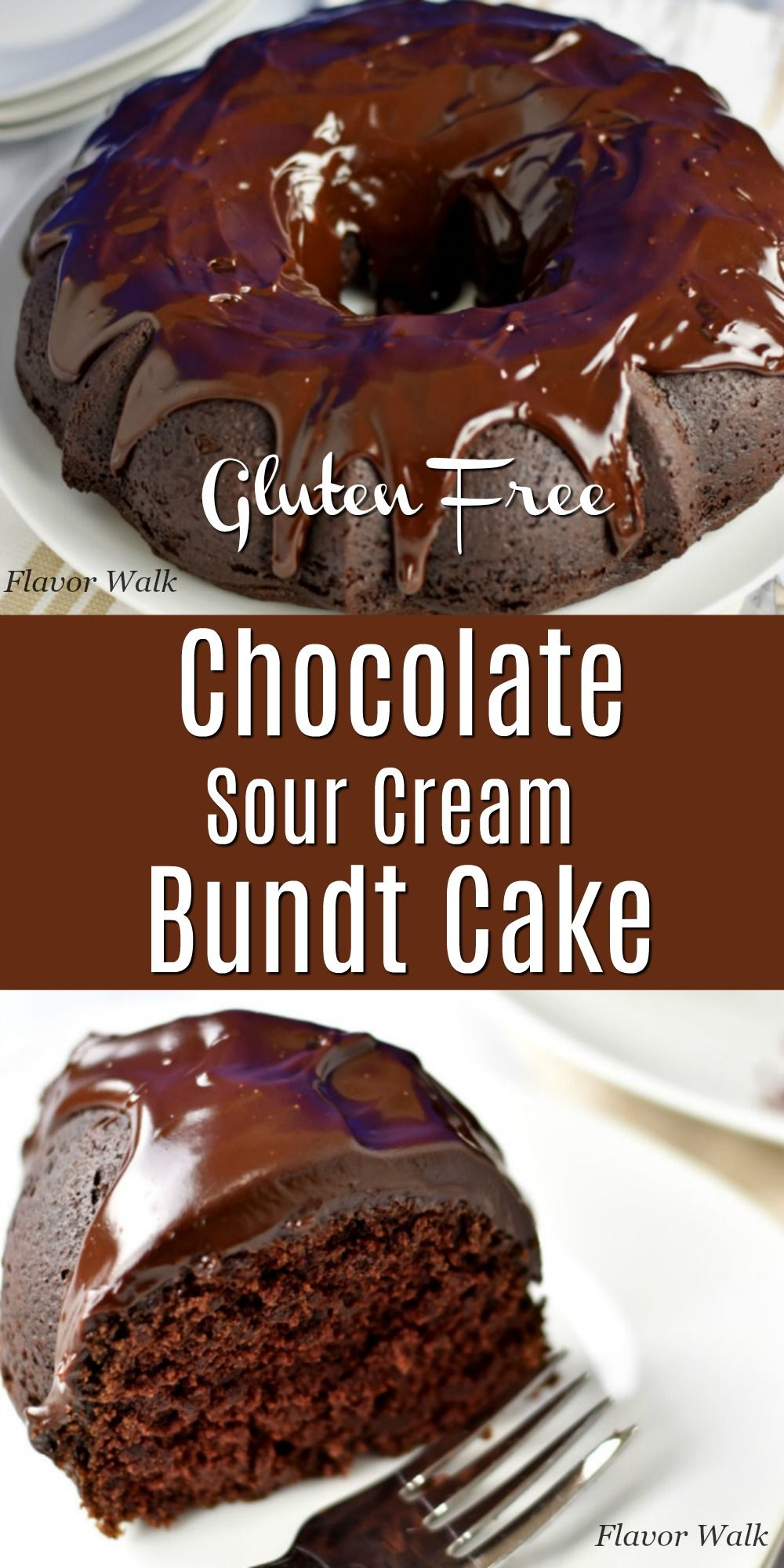 Gluten Free Chocolate Sour Cream Bundt Cake In 2020 Gluten Free Chocolate Cake Recipe Gluten Free Chocolate Sour Cream Recipes