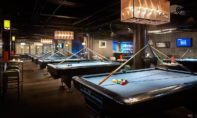 Slate Nyc Billiards And Ping Pong 54 West 21st Street Nyc 10010 Nyc Bars Restaurants To