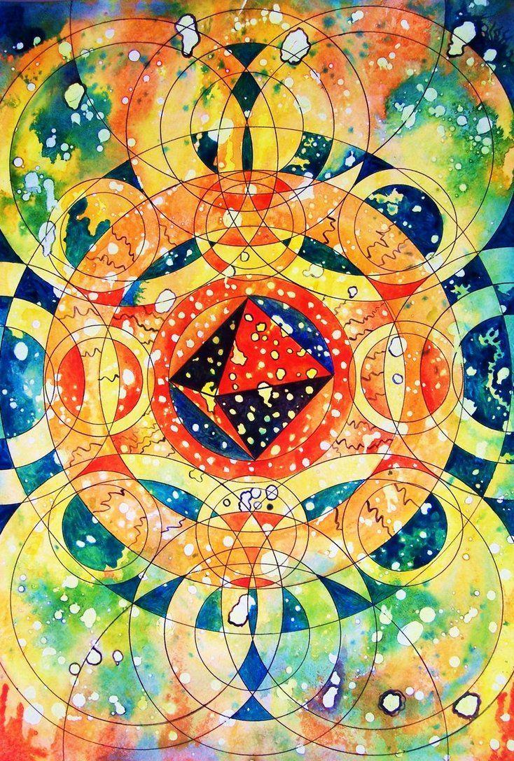 octahedron mandala by rogerhitchcock on deviantART