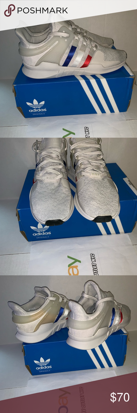 new arrival 99a2c 1f758 New Adidas EQT Support ADV Size 9