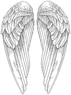 Vleugels voor de goede kant van mijn masker