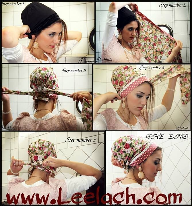 How to tie a tichel. | Modesty is the way. | Pinterest | Kisui ...