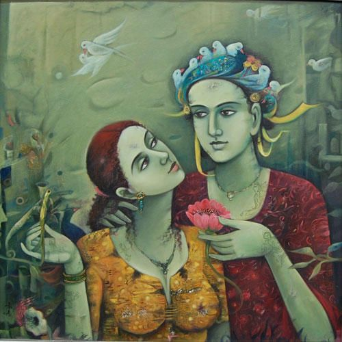 #Modern #Indian Art | Indian art gallery, India art ...