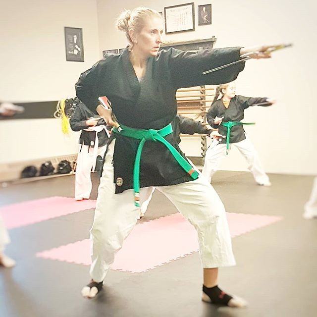Since incorporating lifting into my regular workouts I have noticed other areas of my life have improved as a result. Yes I have muscles less fat but fighting with my sai's isn't so heavy anymore. #liift4life baby!!!!  . . . . #karate  #karatechop  #karateclass  #KarateClub  #karatedo  #karatefamily  #karategi  #karategirl  #karategirls  #KarateKick  #Karatelife  #karatenerd  #karateschool  #kobudo  #okinawankarate  #okinawankobudo  #womenkarate  #worldkaratefederation  #Uechiryū  #pangainoon #m
