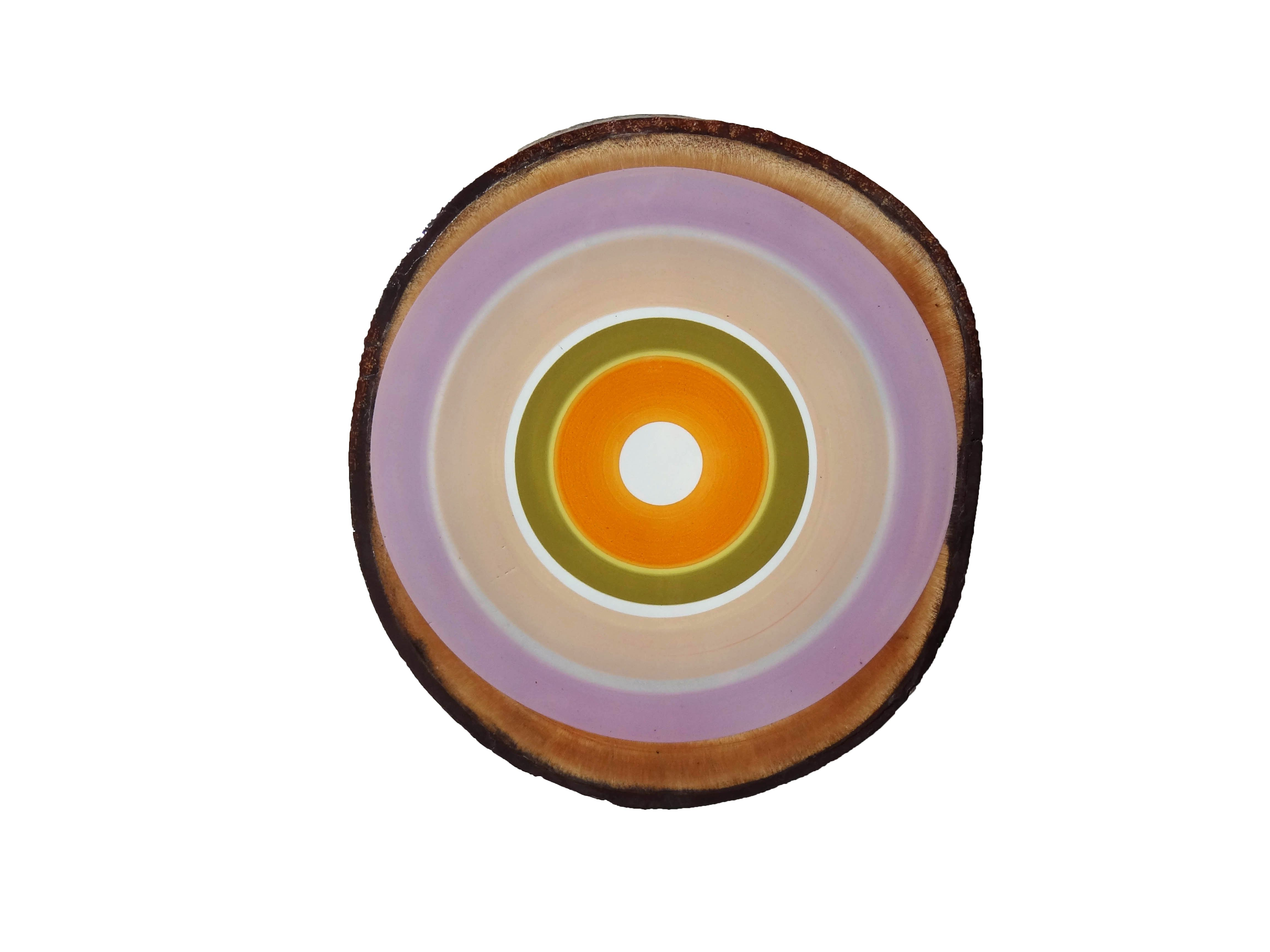 Wood slice large pa is a product from the colored circles
