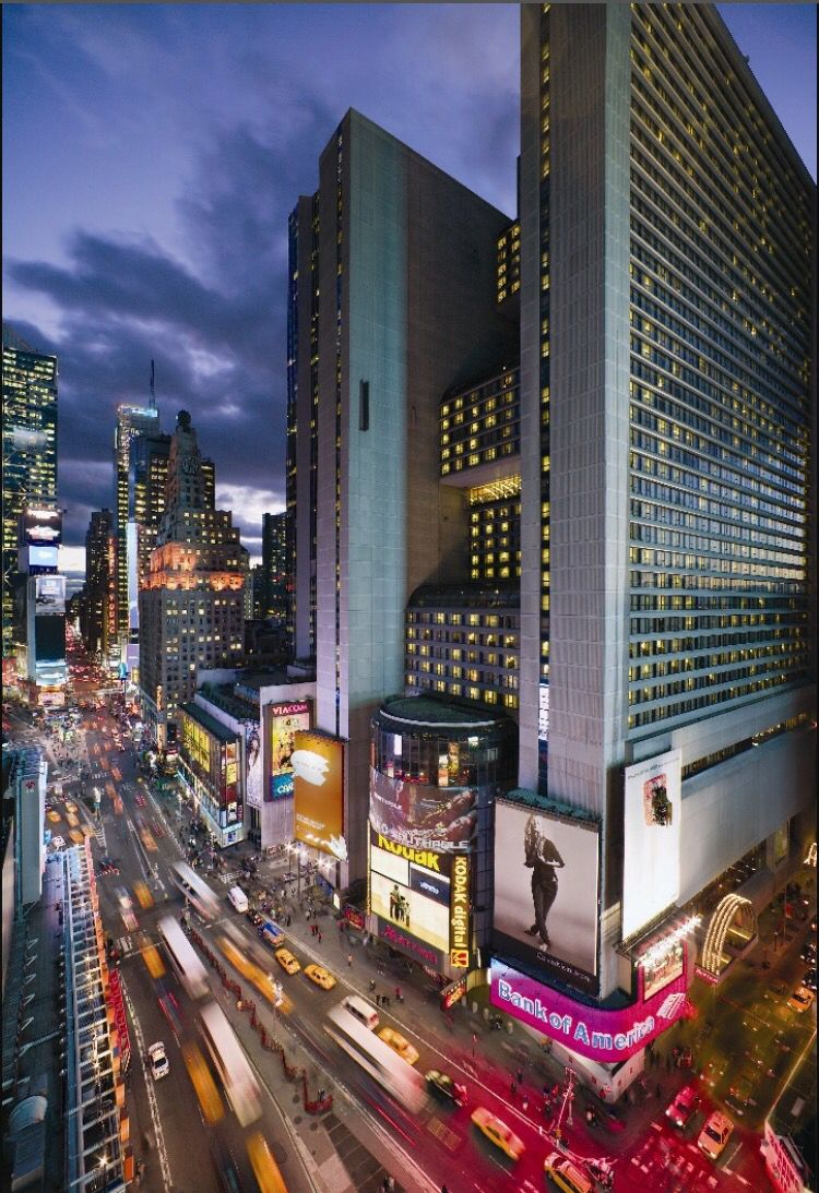 New York City Marriott Marquis Hotel In Times Square New York Hotels Nyc Hotels New York Travel