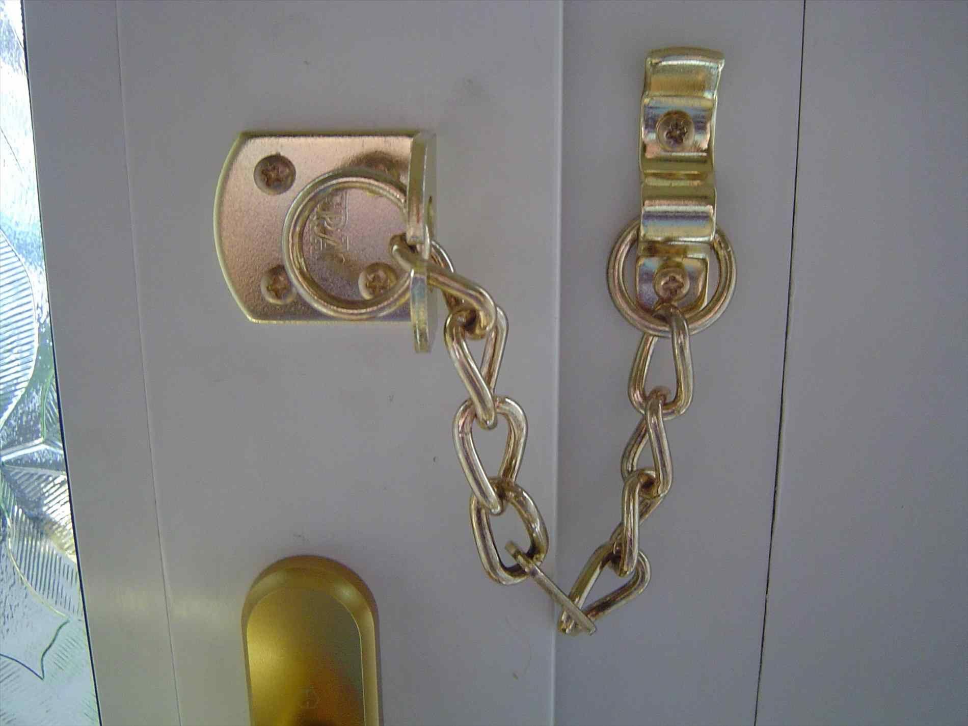 chain door fasteners installation u repairs lock for chain Door ...