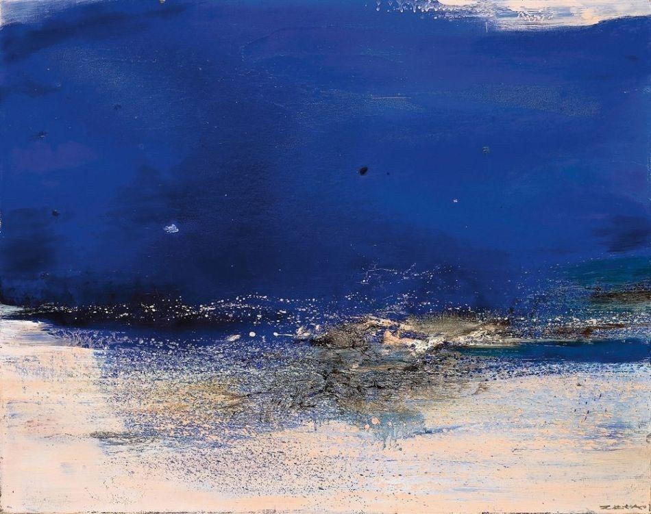Zao Wou Ki Les Arts Art Abstrait Contemporain Art Paysagiste