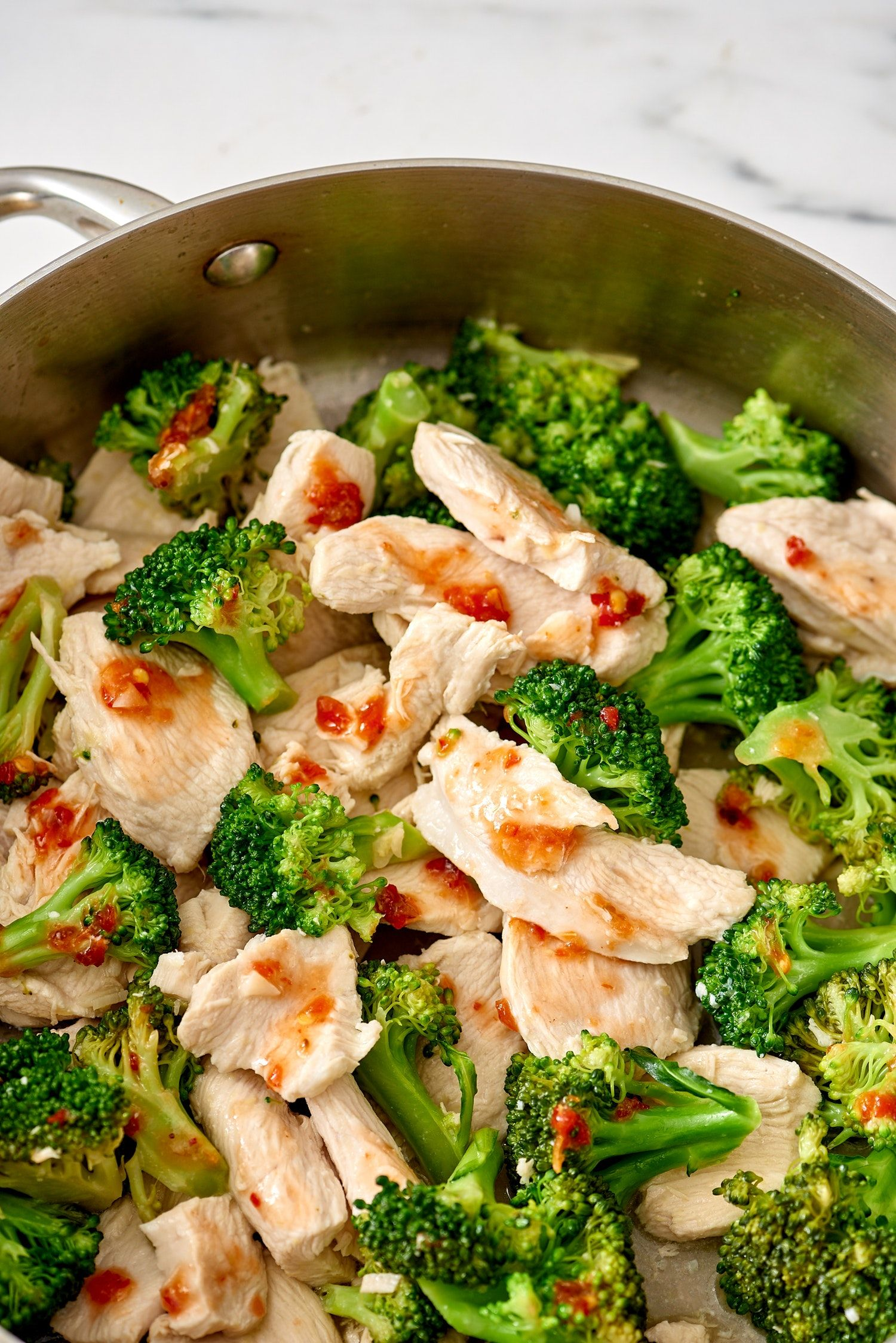 How to make chicken and broccoli stirfry in any pan