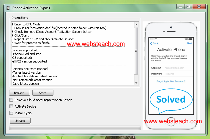 Bypass Icloud Activation Lock Remove Icloud Account From Iphone 5s 5c 5 4s 4 Wikijunkie Icloud Unlock Iphone Free How To Remove