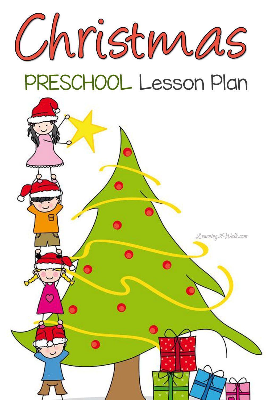 Christmas Preschool Lesson Plan Preschool christmas