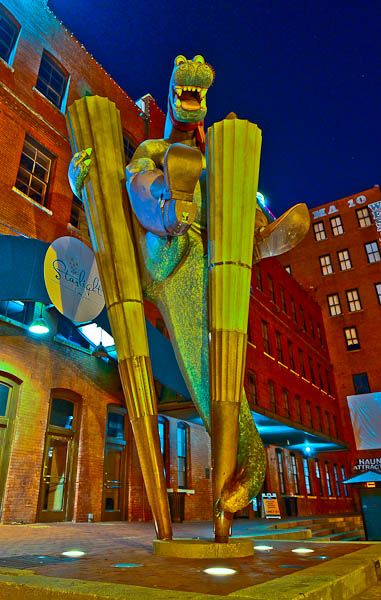 I Think This Sculpture Is So Cool Down At The West End In Downtown