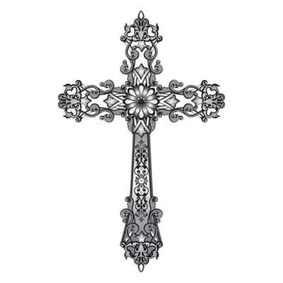 Free Religious Cross Clip Art Clipart S 054