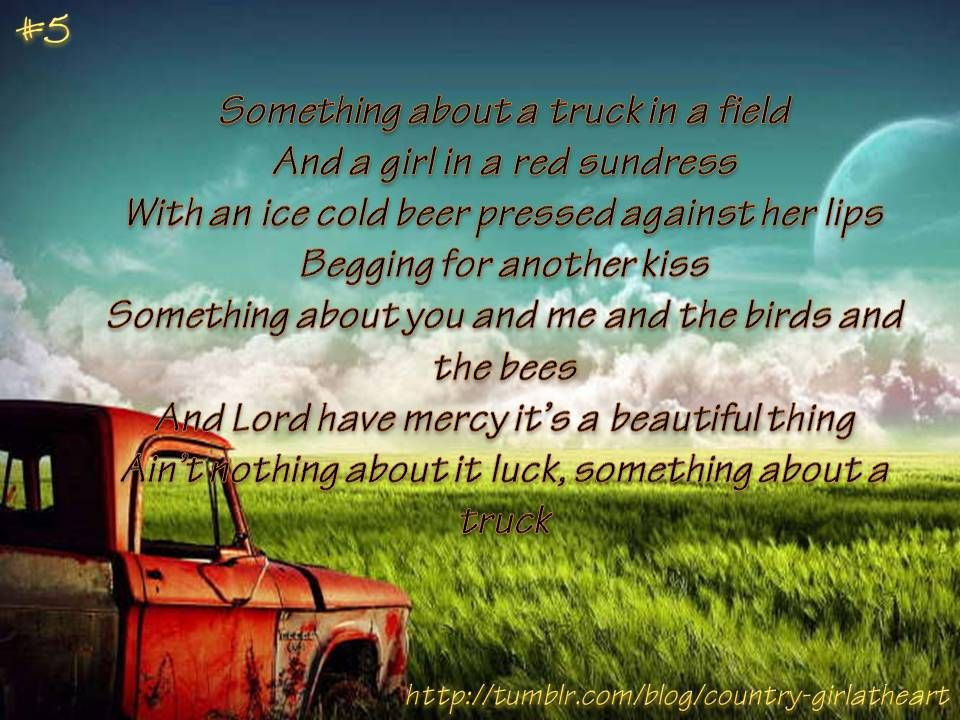Kip Moore Something Bout A Truck With Images Country Music