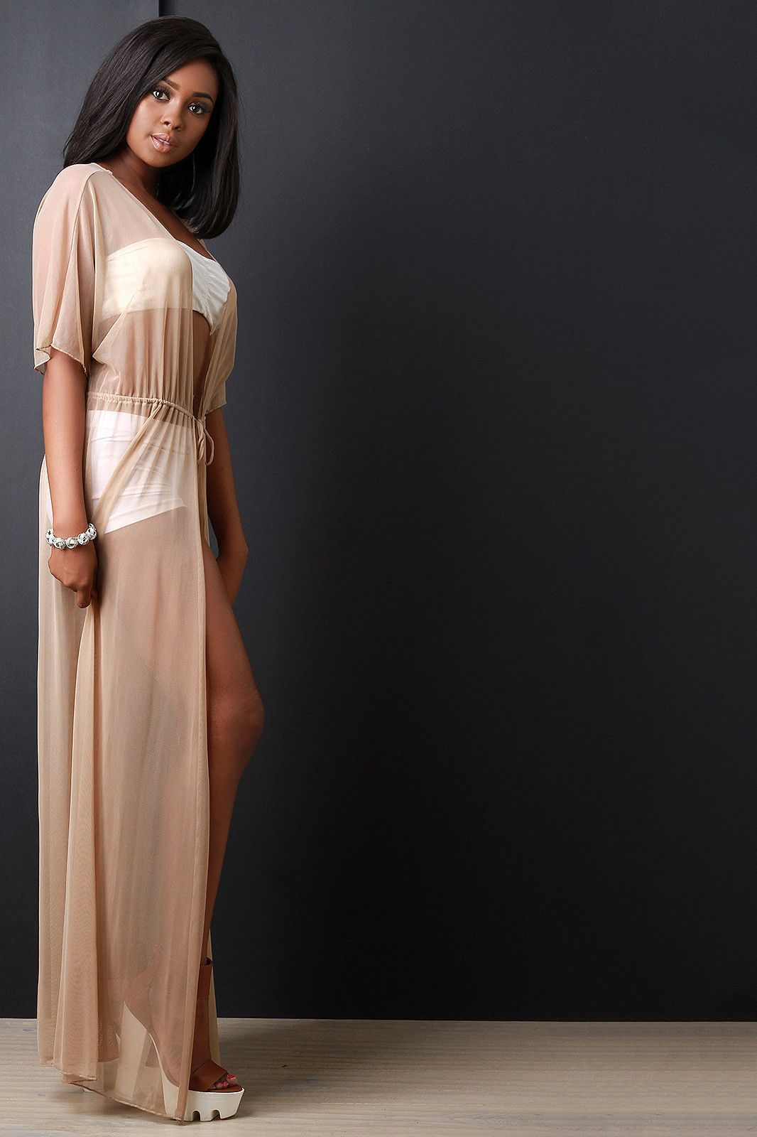 Mesh maxi cover up dress products pinterest maxis mesh and