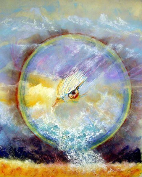 Heaven's Gate - Manna Art  | Prophetic art, Art, Prophetic painting