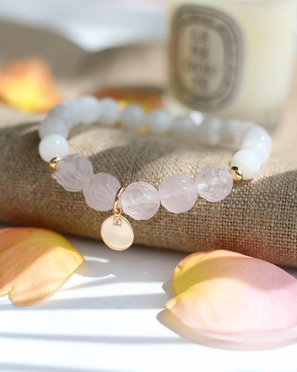 bracelet femme en pierre