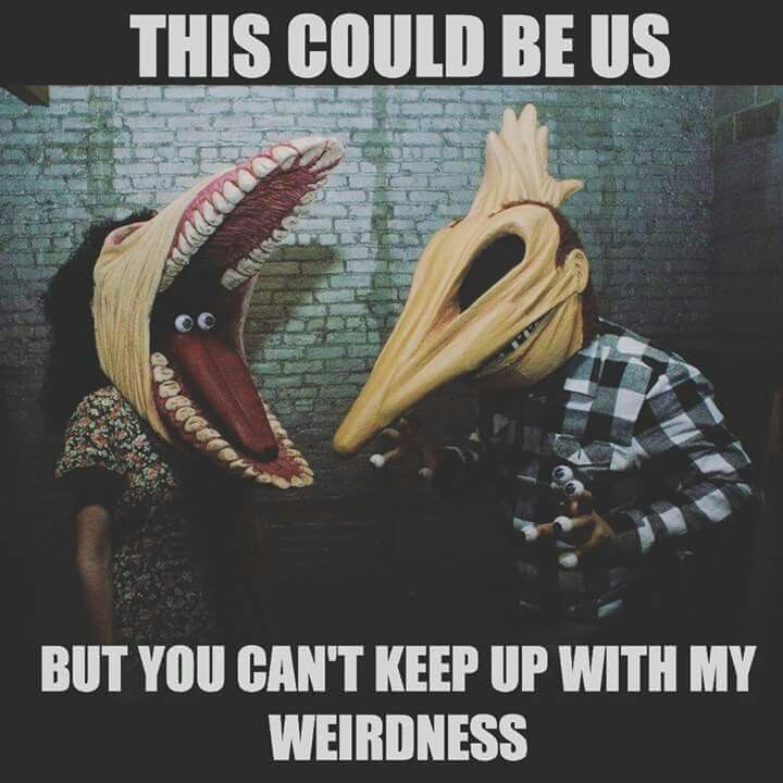 This Could Be Us Meme Funny Relationship Weirdness Humor Lol Haha Beetlejuice Funny Horror Girl Humor Movie Facts