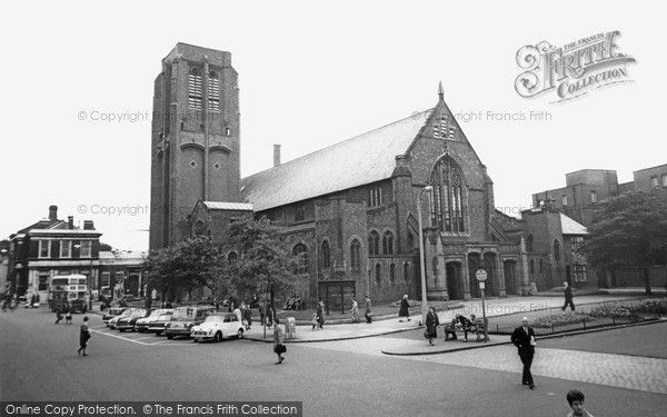 St Helens The Parish Church C 1965 From Francis Frith St Helens St Helens Town Parish