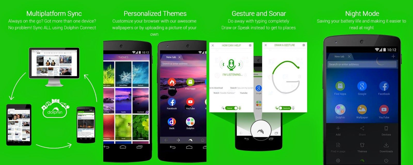 Free Download Dolphin Browser for Android for android APK