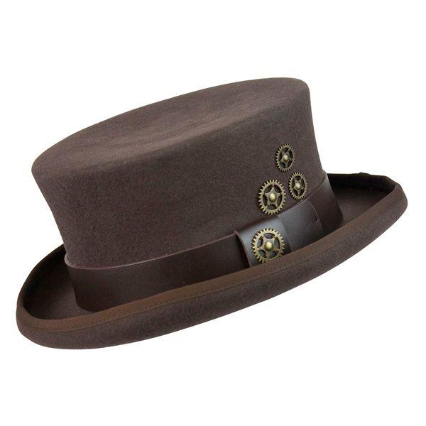 e8033301127 Conner Hats Like Clockwork - Wool Top Hat