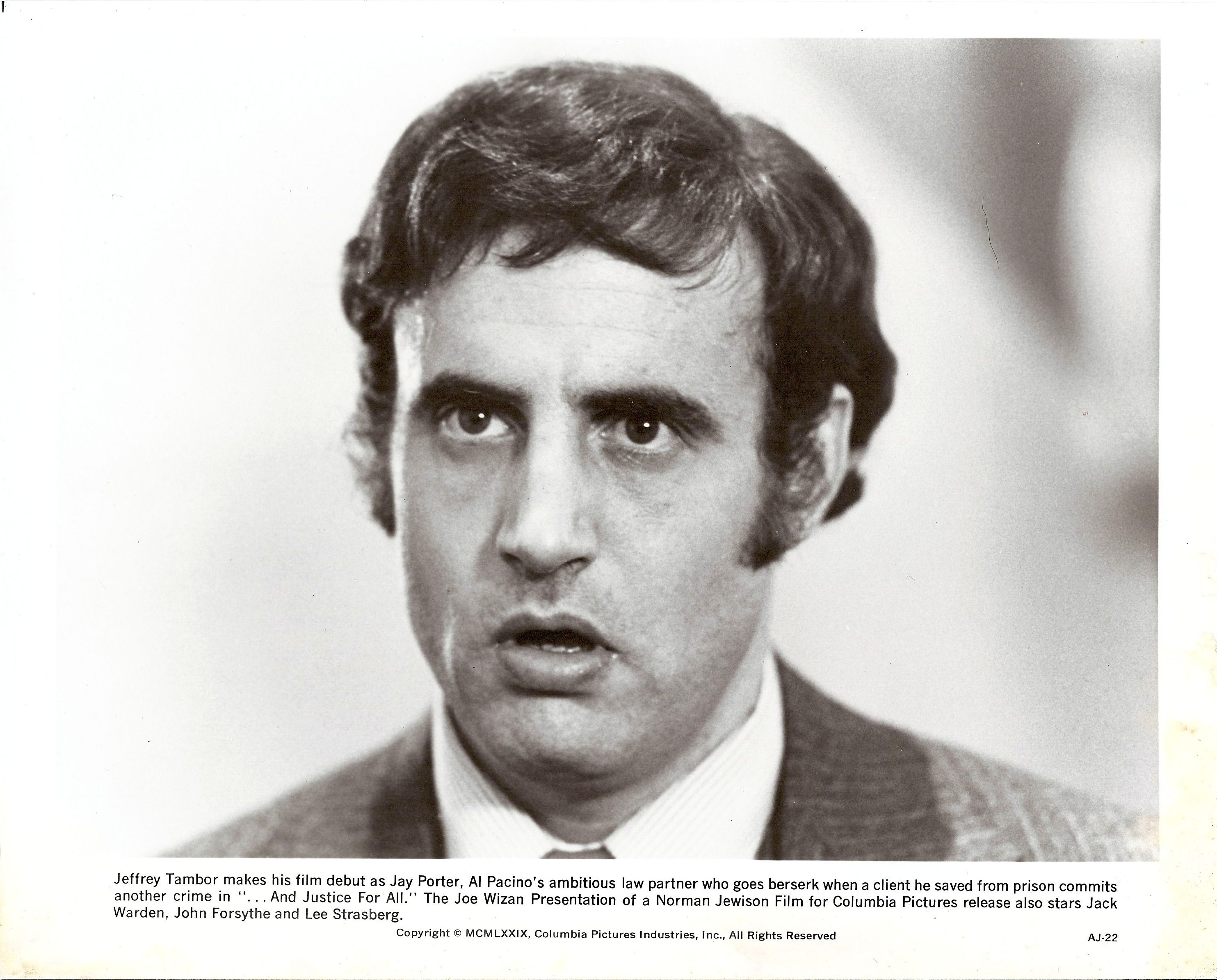 Jeffrey Tambor, And Justice for All | 70s Hollywood Stills ...