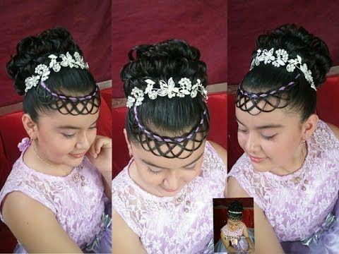 Trenzas y peinados para primera comunion
