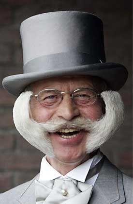 Top 10 Bizarre Mustaches - Listverse