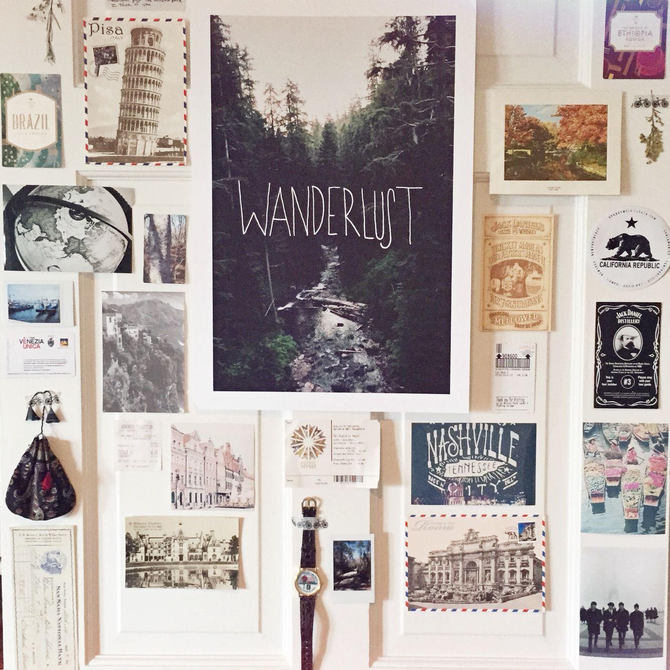 Instagram sophieperez75 dream house pinterest for Travel gallery wall ideas