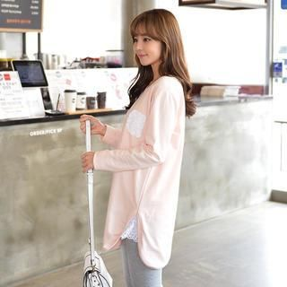 Lace-Trim Pullover from #YesStyle <3 CLICK YesStyle.com
