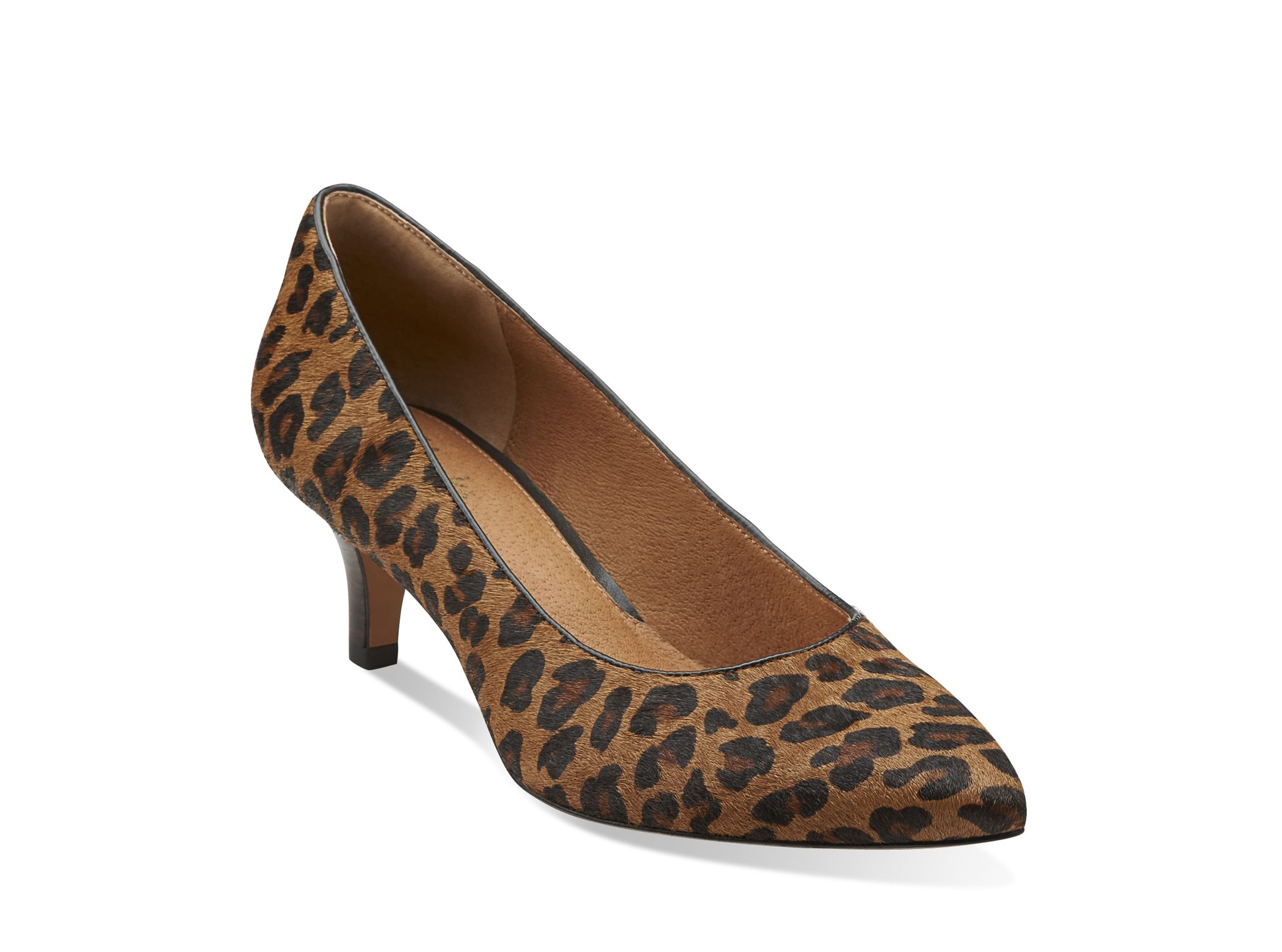 Clarks Shoes Love The Leopard Print And The Kitten Heel Shoes Women Heels Dress Shoes Womens Womens Heels