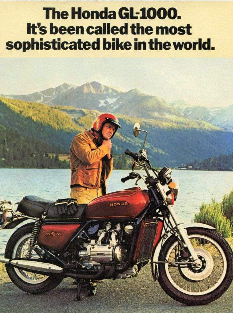Honda Gl1000 Classic Motorcycles Honda Honda Bikes