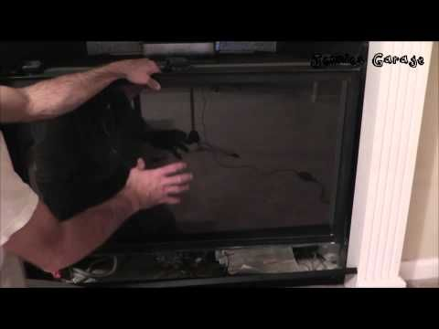 How To Remove Clean The Glass On A Gas Fireplace Youtube Gas