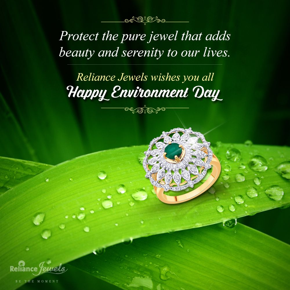 d0f246b67881e Reliance Jewels wishes you all a very Happy World Environment Day ...