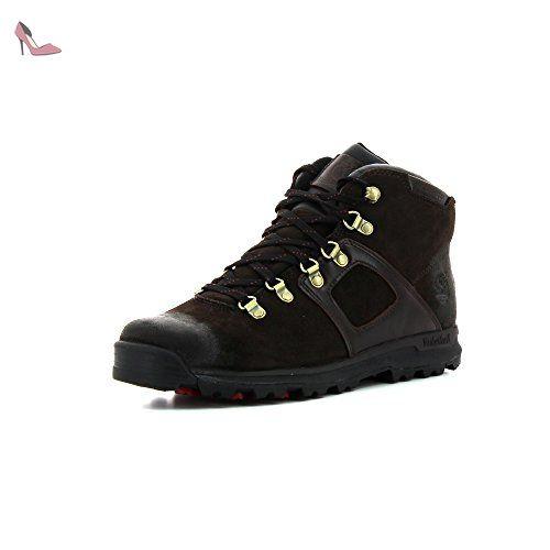 Trainer Low, Chaussures Lacées Homme, Noir (Black), 41 EUTimberland