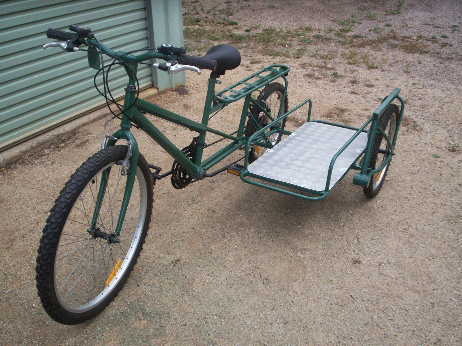Bicycles Modified: Bicycle with Side Car | Transportation - Bikes