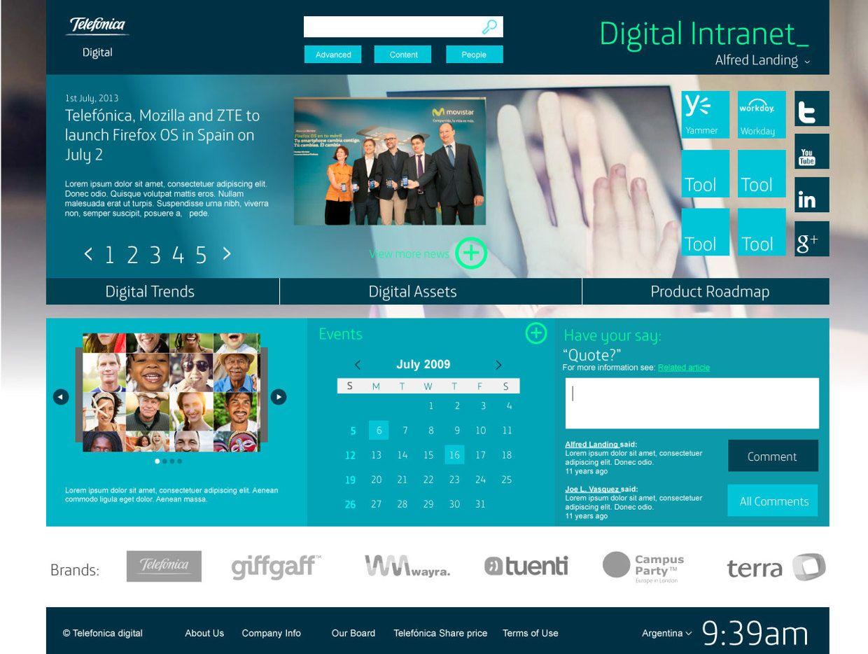 Telefonica Digital (Intranet)