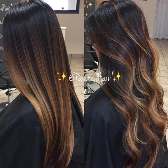Fall Painted Hair 1st Session Waiting List Info Text Only 916 228 0452 For Immediate Availability Text Brown Hair Dye Hair Styles Hair Highlights