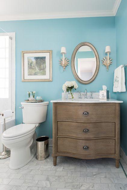 Traditional Bathroom by Dona Rosene Interiors Maybe expand master