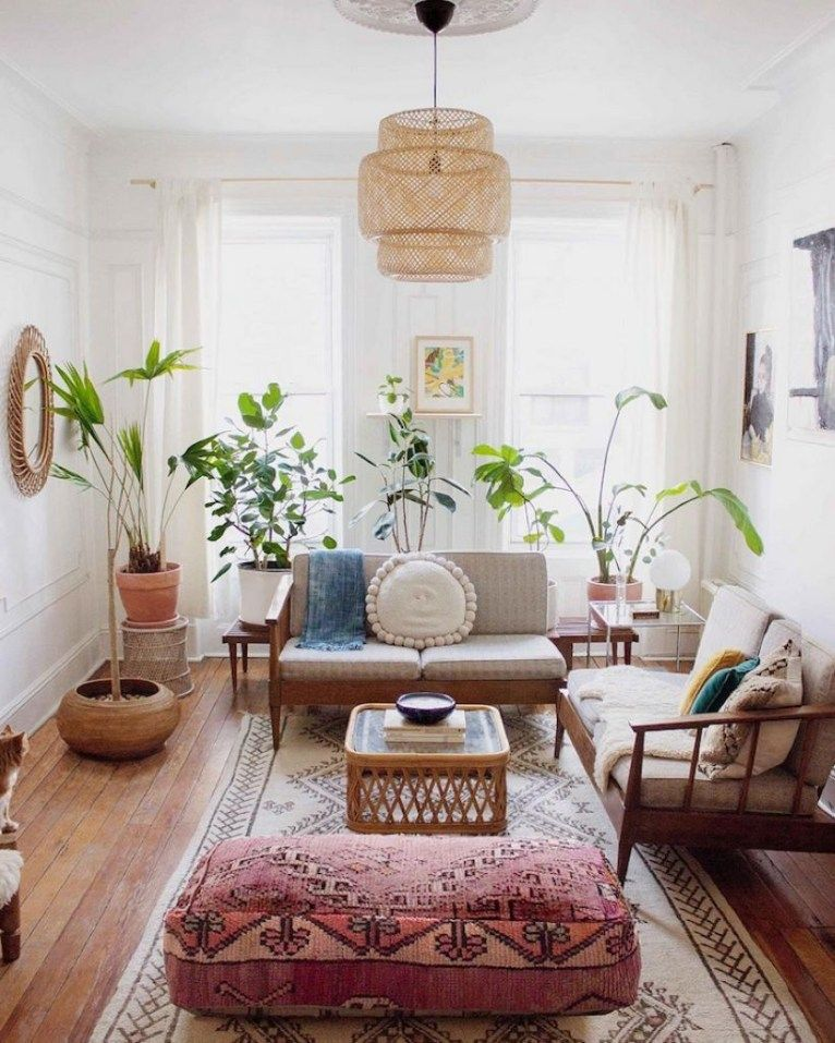 43 Cozy Boho Living Room Decor Ideas Rengusuk Com Living Room Scandinavian Vintage Living Room Interior Design Living Room