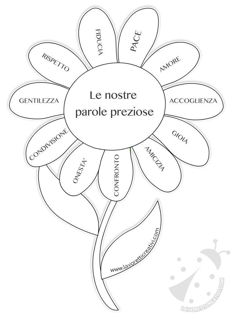 Top Fiore con le parole preziose | accoglienza | Pinterest | Fiore  DU57