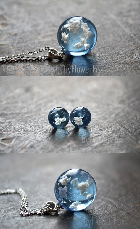 5181e0fa91a7 necklace with light blue sky and white clouds