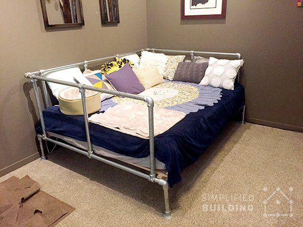 Pin On Beds Made With Pipe