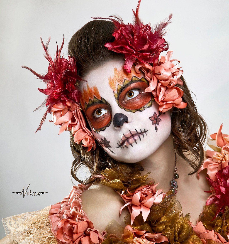 DIA De Los Muertos Makeup for Men | DIA De Los Muertos Face Makeup ...