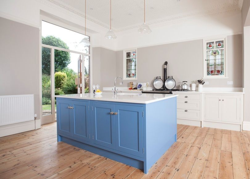 Farrow and Ball Cook\'s Blue island adds an injection of colour in ...